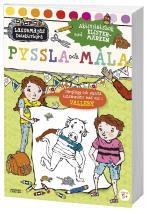 Pyssla Och Måla -  Aktivitetsbok Med Klistermärken