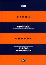 Ne-s Stora Spanska Ordbok - Spansk-svensk/svensk-spansk 134000ord