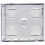 CD-ask Twinbox-Slimline för 2st CD-skivor