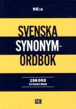 Ne-s Svenska Synonymordbok - 196 000 Synonymer