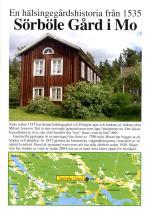 Sörböle Gård I Mo - En Hälsingegårdshistoria Från 1535