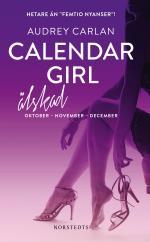 Calendar Girl. Älskad - Oktober, November, December