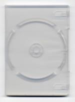 DVD-ask transparent med plats för insticksblad