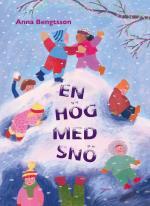 En Hög Med Snö