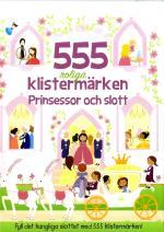 555 Roliga Klistermärken - Prinsessor Och Slott
