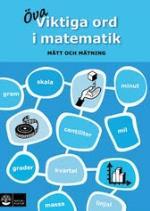 Viktiga Ord I Matematik - Mått Och Mätning
