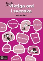 Viktiga Ord I Svenska - Språklära