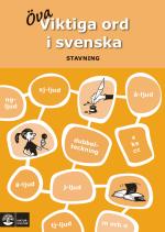 Viktiga Ord I Svenska - Stavning