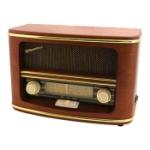 Roadstar Vintage Retro FM/AM Radio Trä