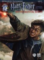 Harry Potter Instrumental Solos Cello + Cd