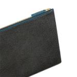 Laptopfodral (svart/blå) - 10-12 Tum