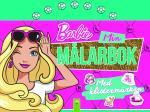 Barbie Min Målarbok Med Klistermärken