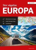 Stor Vägatlas Europa - Skala 1-750 000
