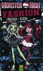 Monster High Fashion - Färglägg + Klistra