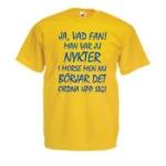 Nykter i morse - XL (T-shirt)