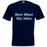 Herr Ober! Eis bitte. - M (T-shirt)