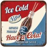Glasunderlägg Retro / Have a cola!