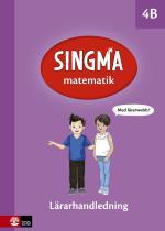 Singma Matematik 4b Lärarhandledning Med Lärarwebb