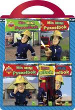 Brandman Sam. 5 Miniböcker Med Pyssel