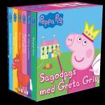 Sagodags Med Greta Gris (6 Små Böcker)