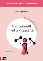 Intensivträning Ma Åk 1-3 Alla Räknesätt Med Textuppgifter Lhl