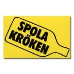 Spola Kröken Sticker / Klistermärke