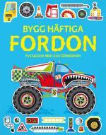 Bygg Häftiga Fordon - Pysselbok Med Klistermärken