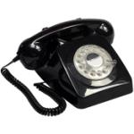 Telefon / Bordstelefon GPO 746 Svart