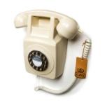 Telefon / Väggtelefon GPO 746 Vit