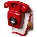 Telefon / Väggtelefon GPO 746 Röd