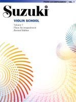 Suzuki Violin School 7 Piano Acc  Rev