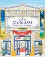 Vi Går På Museum - Pysselbok Med Klistermärken