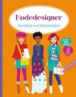 Modedesigner- Pysselbok Med Klistermärken