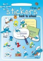 Smurfarna - Stickers - Skolan Börjar