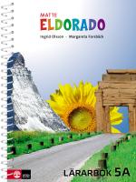 Eldorado Matte 5a Lärarbok