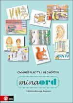 Mina Ord Övningsblad Till Bildkorten