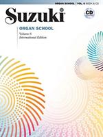 Suzuki Organ School Vol 6, Bok/cd