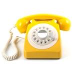 Telefon / Bordstelefon GPO 746 Gul
