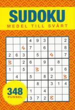 Sudoku - Medel Till Svår - 348 Pussel