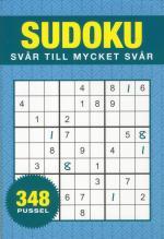 Sudoku - Svår Till Mycket Svår