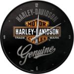 Väggklocka Retro / Harley-Davidson Genuine
