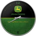 Väggklocka Retro / John Deere logo