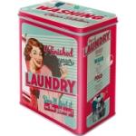 Plåtburk L Retro / Laundry