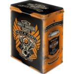 Plåtburk L Retro / Harley-Davidson Wild ..
