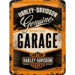 Plåtskylt Retro 15x20 cm / Harley-Davidson