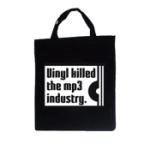 Vinyl killed the MP3 industry (Tygväska/Korta h)