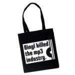 Vinyl killed the MP3 industry (Tygväska/Långa h)