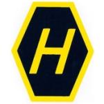 Högertrafikmärke / Klistermärke / Sticker