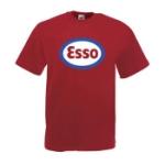 Esso / Logo Röd - XXL (T-shirt)