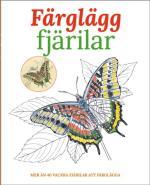 Färglägg Fjärilar - Mer Än 40 Vackra Fjärilar Att Färglägga